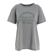 半袖Tシャツ Cシールドレインボー 8215102-020