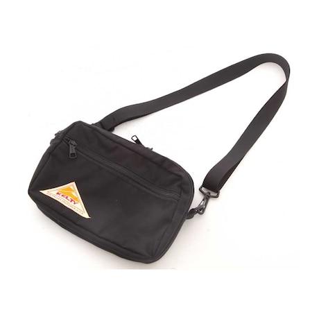 【多少の傷汚れありの為大奉仕】レクタングル Rectangle Zip Shoulder ショルダーバック 2592155 Black