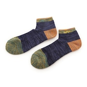 MID WEIGHT WEIGHT SHORT SOCKS ショートソックス 靴下 WES17F03-7303 NVY