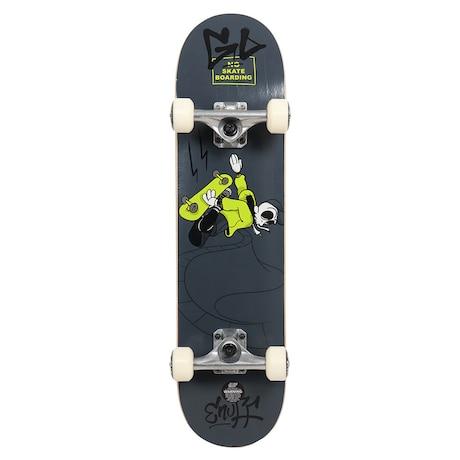 ジュニア SKULLY MINI 7.25 スケートボード コンプリート スケボー ENU2150 Black 7.25インチ