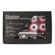 スケートボード エクストリームスポーツ スケーター コンポーネントセット SKBOX64