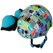 リップスティック エクストリームスポーツ キッズ スポーツヘルメット ナンバー
