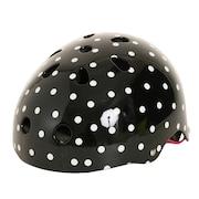 エクストリームスポーツ  【多少の傷汚れありの為大奉仕】キッズヘルメット ドットガラ SKSC110D