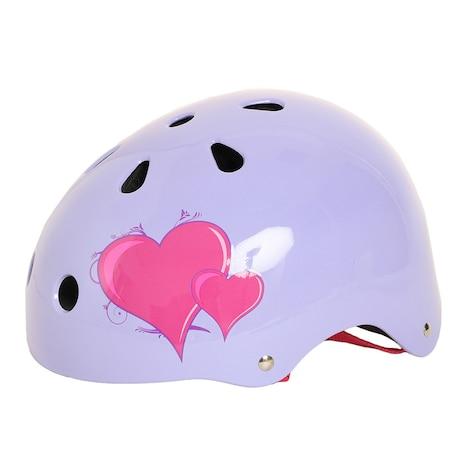 エクストリームスポーツ キッズヘルメット ハートガラ SKSC110H
