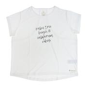ラッシュガード レディース グラフィックTシャツ 582SW0DSK5520 WHT