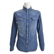 レギュラーシャツ CA113 C30/1 IDBLU