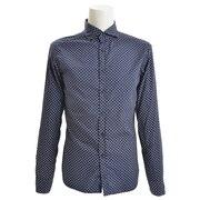 レギュラーシャツ CA113 C709 NVYBRN