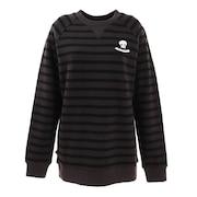 CELINE CREW レディーススウェットシャツ NIWFCEL-BLK-LG