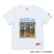 キングダム キッズ 3 SQUADS 半袖Tシャツ SL-KINGDOM202-wht