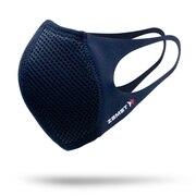 マウスカバー ふつうサイズ 2枚入り 黒 飛沫対策 ザムスト 洗えるスポーツマスク