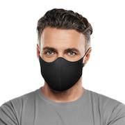 抗菌 防臭 マスク ソフトストレッチマスク ブラック A001A BLK