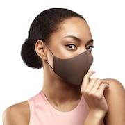 抗菌 防臭 マスク ソフトストレッチマスク ココア A001A CCA