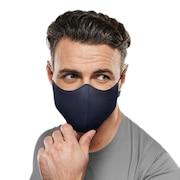 抗菌 防臭 マスク ソフトストレッチマスク ネイビー A001A NVY