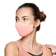抗菌 防臭 マスク ソフトストレッチマスク ピンク A001A PNK