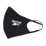 スポーツマスク フェイスカバー 洗えるマスク 3枚セット ブラック KNJ84-H18222