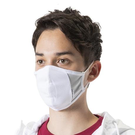 接触冷感 マスク フェイスガード 3枚入り WE2HFZ01