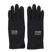 ナノガード ウイルス対策手袋 ブラック 669PA1ST9317
