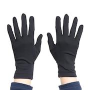 ナノガード ウイルス対策手袋 ブラック 669PA1ST9318