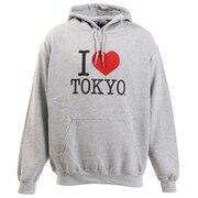 アイラブ東京 プルオーバーパーカー H001-H/Gray-L