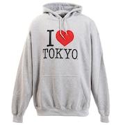 アイラブ東京 プルオーバーパーカー H001-H/Gray-XL