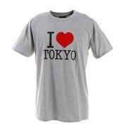 アイラブ東京 Tシャツ I LOVE TOKYO T001 H/Gray XL