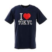 アイラブ東京 Tシャツ I LOVE TOKYO T001 Navy M