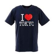 アイラブ東京 Tシャツ I LOVE TOKYO T001 Navy S