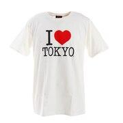 アイラブ東京 Tシャツ I LOVE TOKYO T001 White 2XL
