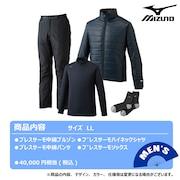2021年新春福袋 ミズノ ゴルフ メンズ ブレスサーモ体感4点セット 52JH055014 LL