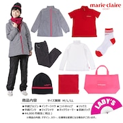 2021年新春福袋 マリ・クレール ゴルフ レディース8点セット 730100 -BK