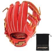硬式用グラブ 内野手用 野球グローブ 一般 プロエッジ PEK8666L21-3247