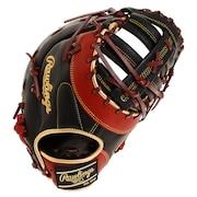 野球 軟式 グラブ MLBスタイル 一塁手用 GRXHM3ACD-B/SH