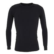 野球 アンダーシャツ PWX コンプレッション 長袖 インナー シャツ MAX4657A 黒