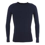野球 アンダーシャツ PWX コンプレッション 長袖 インナー シャツ MAX4657A ネイビー