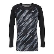 野球 フィットコンフォート ノベルティアンダーシャツ ロングスリーブ 1364470 BLK BB