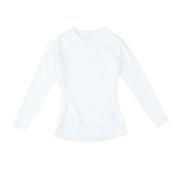 野球 抗菌 高機能アンダーシャツ 長袖 丸首 UVカット 吸汗速乾 防臭 723PG1ES3980 白 コンプレッションインナー