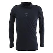 野球 アンダーシャツ HEAT ハイネック 長袖 インナー シャツ UWMTYF-031-048 防寒 冬用 吸汗速乾 保温 裏起毛