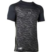 野球 アンダーシャツ 半袖 メンズ テックフィッティド グラフィック インナー シャツ 1354237 BLK BB 黒