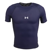 野球 アンダーシャツ 半袖 アイソチル コンプレッション ショートスリーブ インナー シャツ 1364732 MDN BB ネイビー