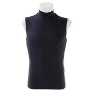 野球 アンダーシャツ ノースリーブ (袖なし) ストレッチハイネック 723G6ES4197 NVY