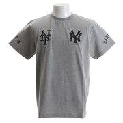Tシャツ メンズ ヤンキース&メッツ 半袖Tシャツ MM01-MLB-8S30-GRY 【野球 スポーツ ウェア 一般】