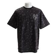 Tシャツ メンズ UT ラウンド 半袖Tシャツ MM01-NYK-8S06-BLK 【野球 スポーツ ウェア 一般】
