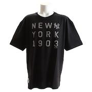 Tシャツ メンズ UTビッグ 半袖Tシャツ MM01-NYK-8S07-BLK 【野球 スポーツ ウェア 一般】