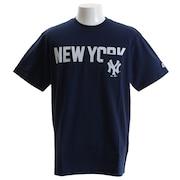 Tシャツ メンズ ポケット 半袖Tシャツ MM01-NYK-8S19-NVY 【野球 スポーツ ウェア 一般】