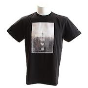 Tシャツ メンズ フォト 半袖Tシャツ MM01-NYK-8S25-BLK 【野球 スポーツ ウェア 一般】