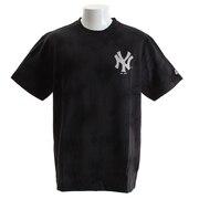 Tシャツ メンズ タイダイ 半袖Tシャツ MM01-NYK-8S33-BLK 【野球 スポーツ ウェア 一般】