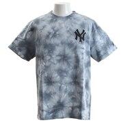 Tシャツ メンズ タイダイ 半袖Tシャツ MM01-NYK-8S33-WHT 【野球 スポーツ ウェア 一般】