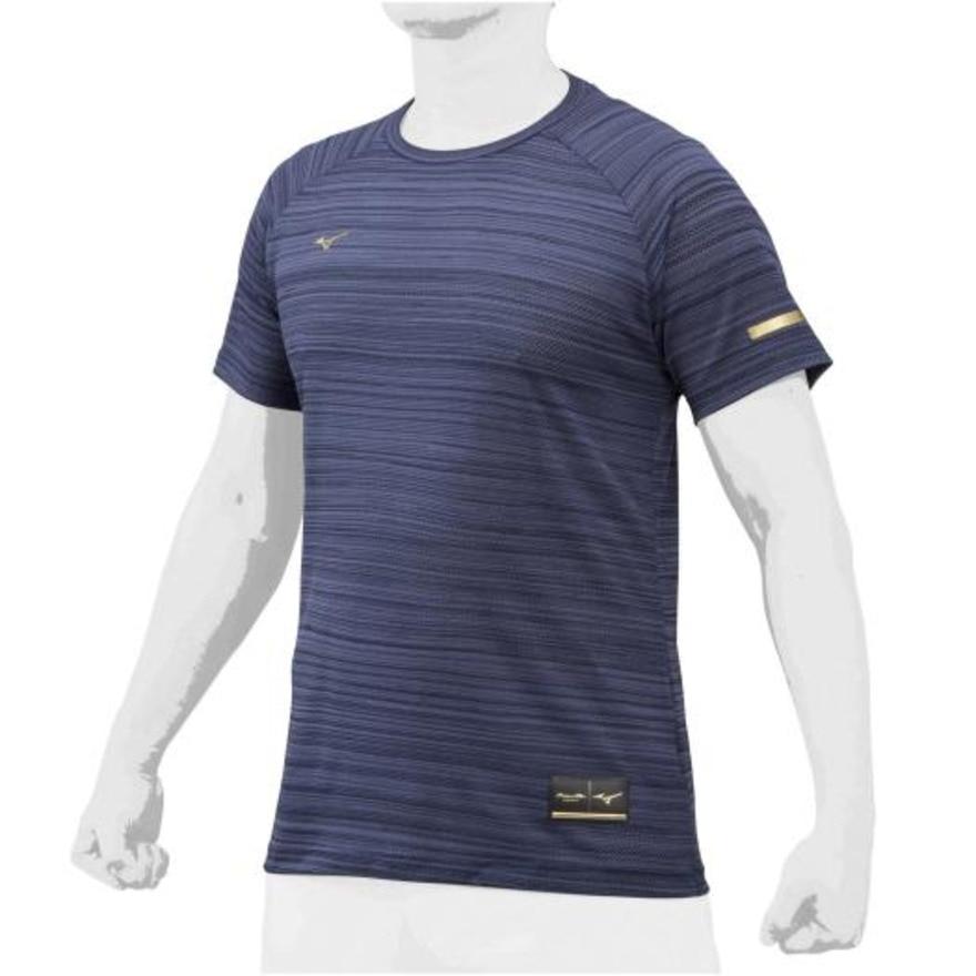 MIZUNO 野球ウェア ミズノプロ KUGEKI Tシャツ 12JA0T5614 L 48 野球
