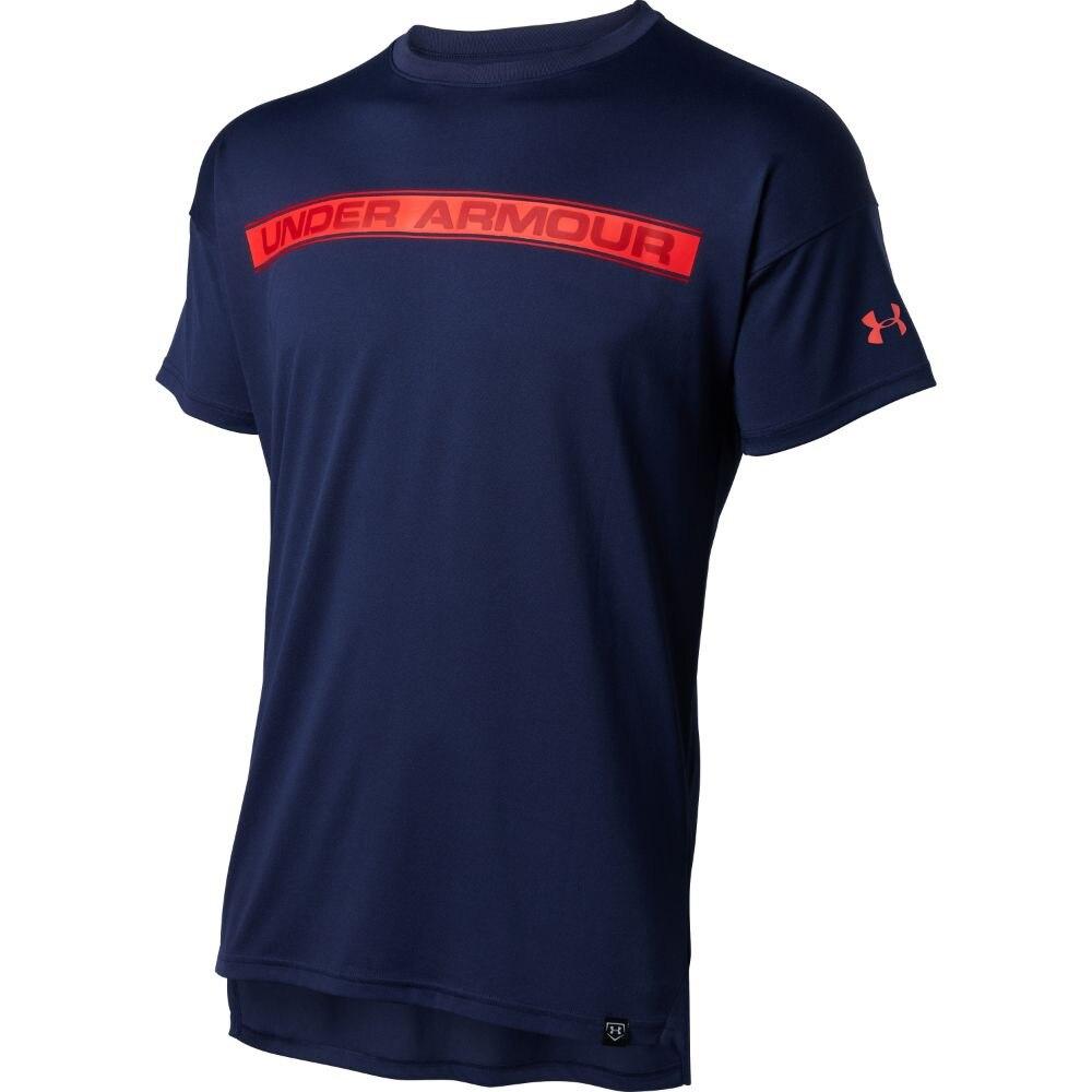 Tシャツ メンズ テック ライン テキスト 半袖Tシャツ 1354250 MDN BB