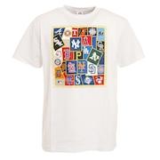 野球ウェア チームステッカーTシャツ MM01-ML-0S17-WH
